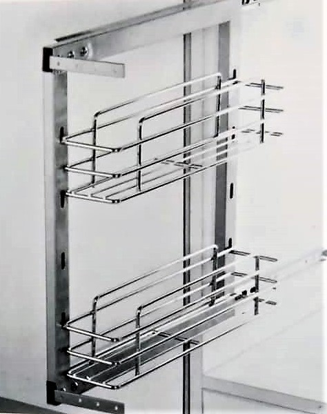 Pull Out Bottle Rack 200MM